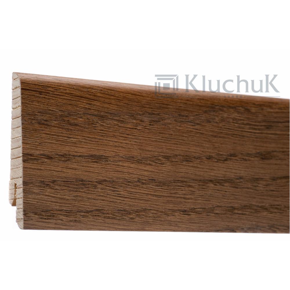 Плинтус Kluchuk Евро Дуб Браун KLE60-13