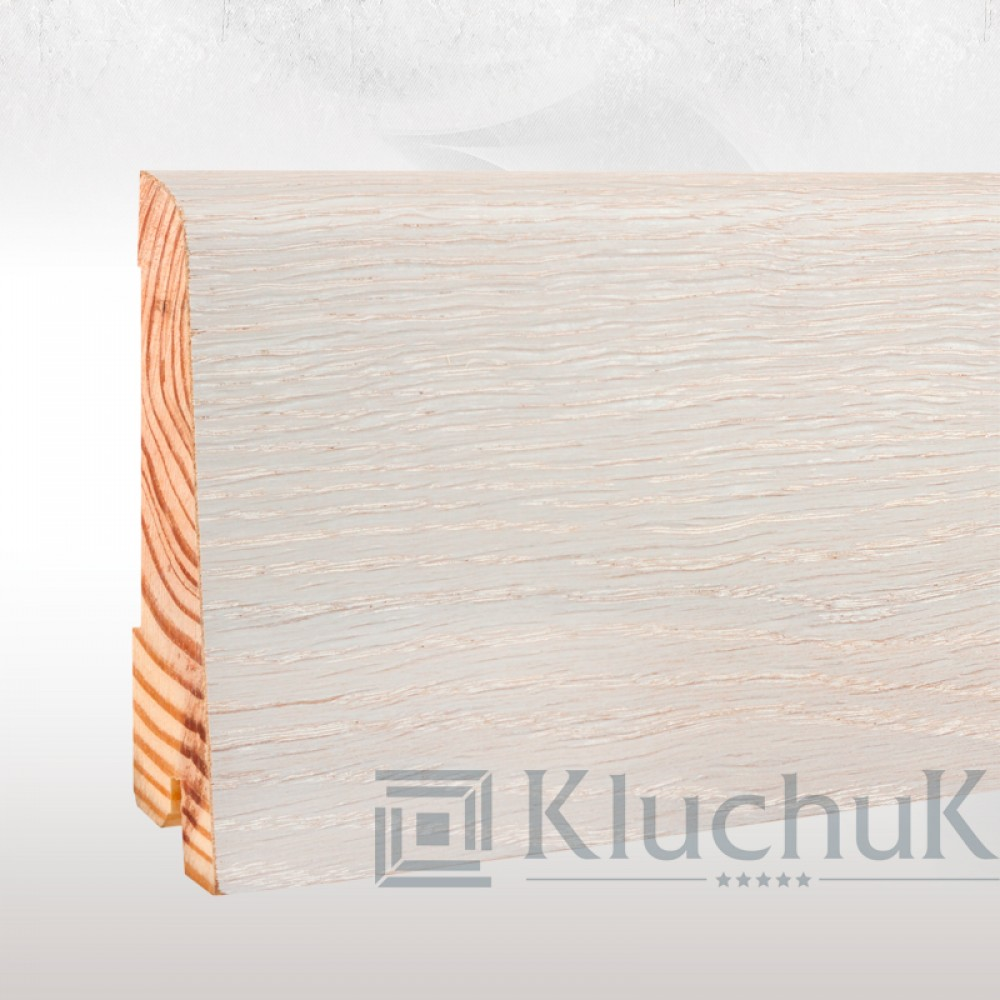 Плинтус Kluchuk NEO Plinth 100 Дуб Ледяной KLN100-05