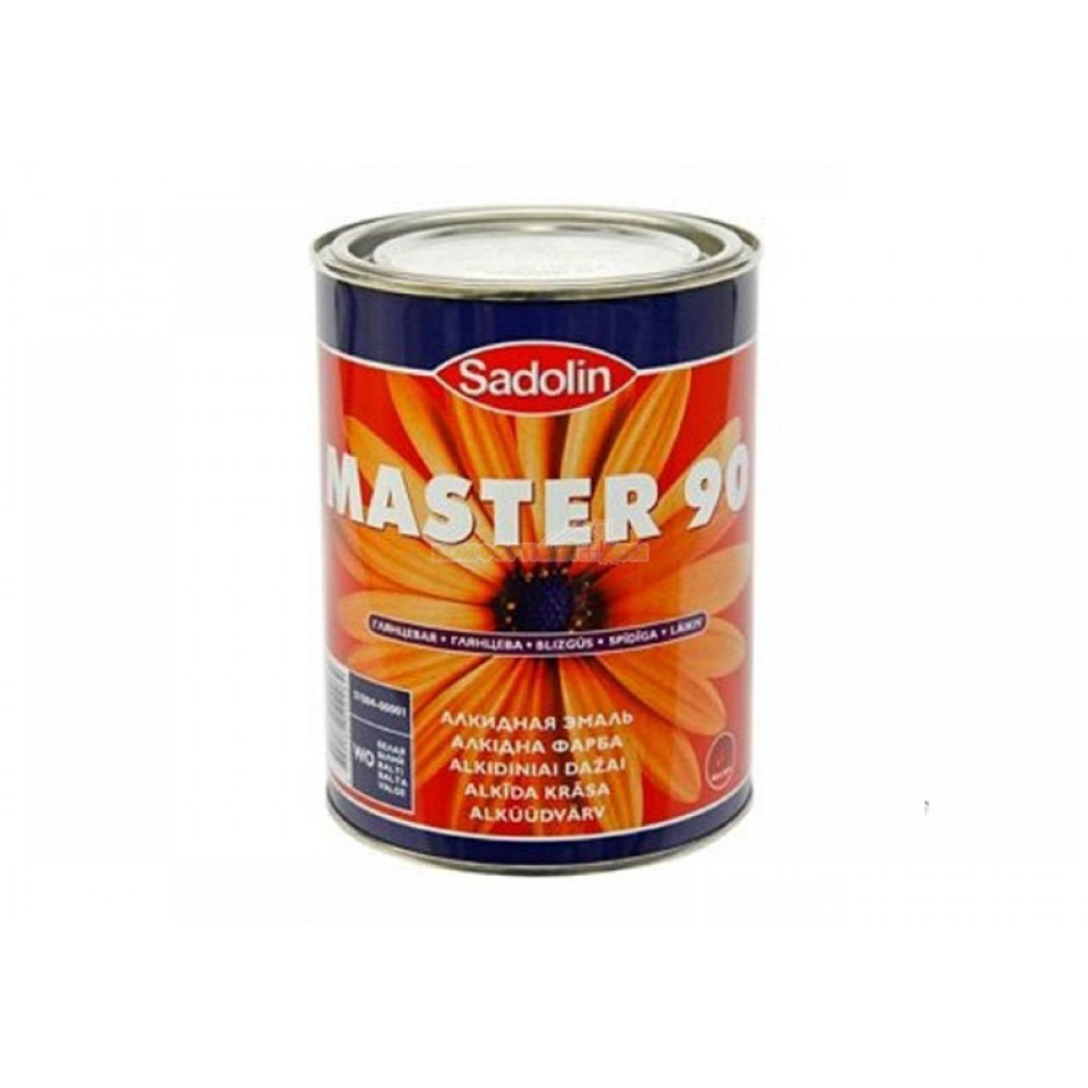 Краска Sadolin 'MASTER 90' (Швеция)