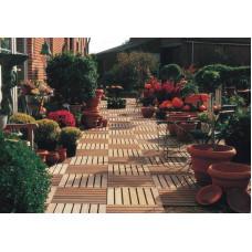 Садовый паркет, толщ ясеня 20мм, цена за 1 шт, арт 0030